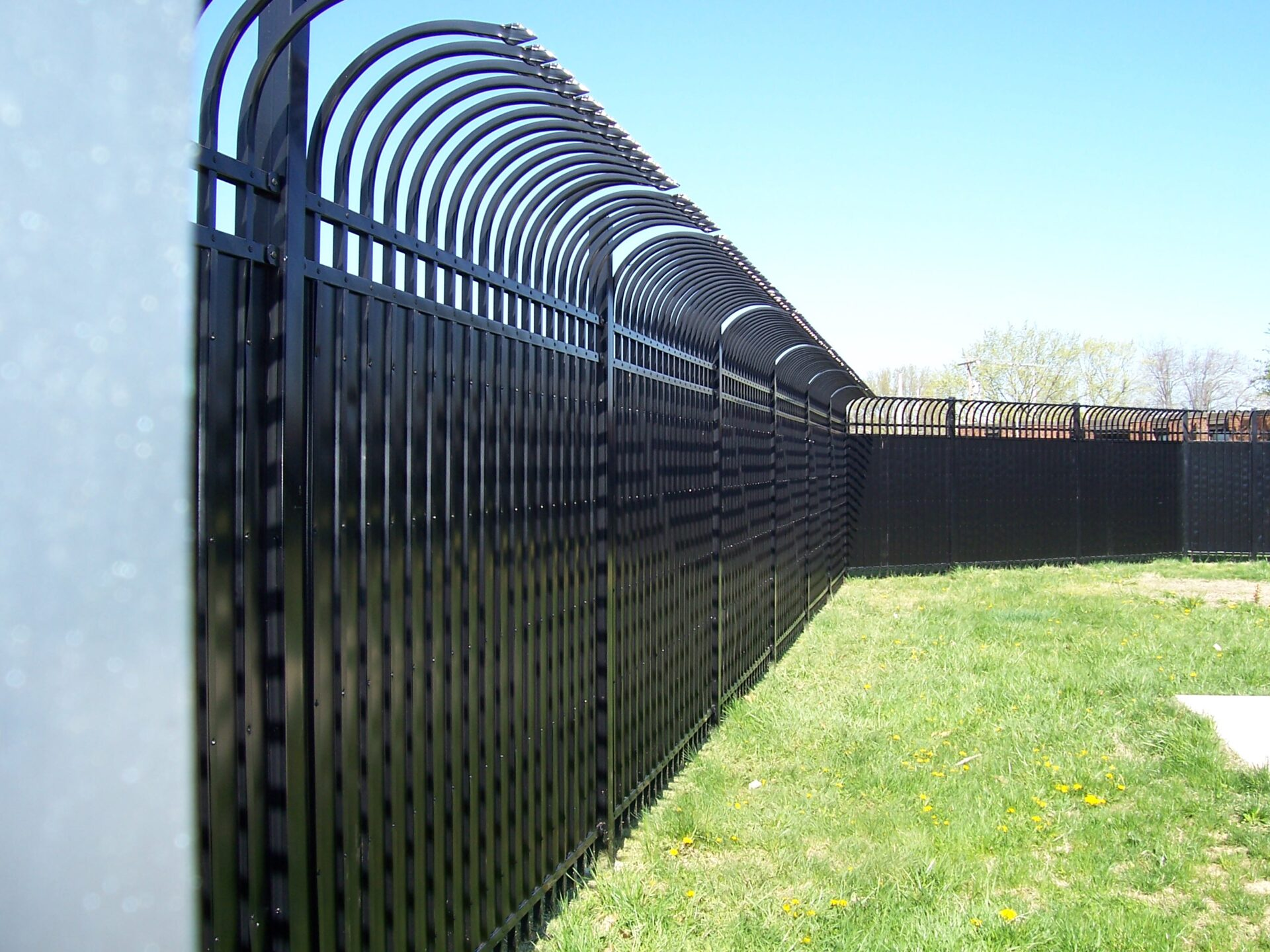 Commercial Fencing Amp Gates Chain Link Amp Wrought Iron In