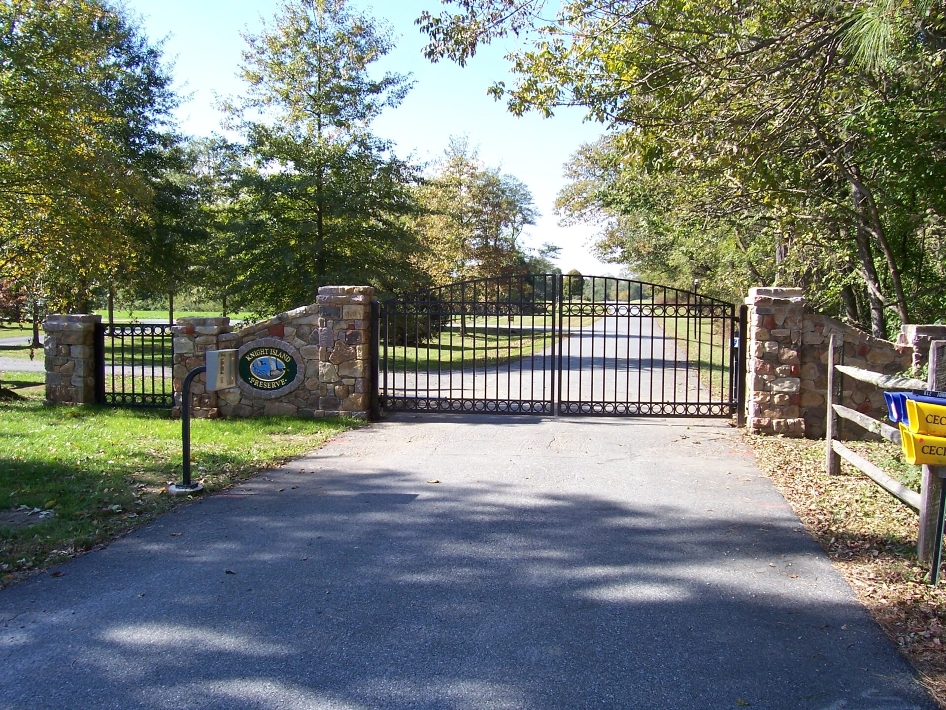 Custom Wrought Iron Driveway Gates In Delaware Guardian