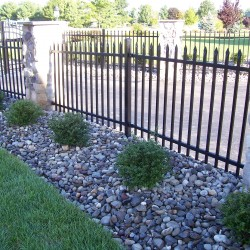 Custom Residential Wrought Iron Fencing in Delaware