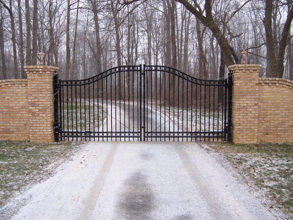 Wrought Iron Driveway Gates Delaware